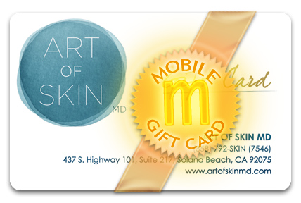 Art of Skin MD M-Gift Card